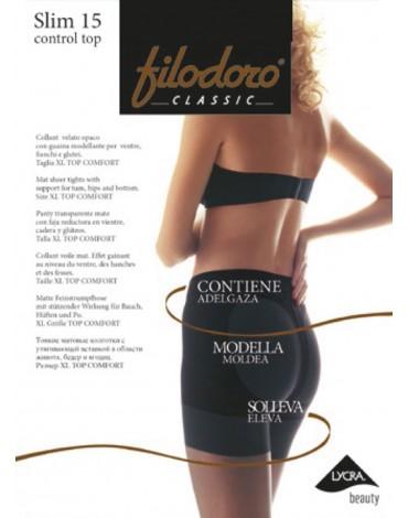 Panty Slim 15 Control Top Filodoro